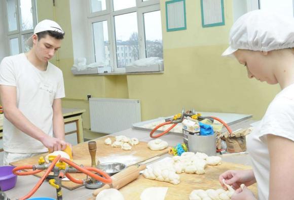 Uczniowie Branżowej Szkoły Spożywczej I stopnia w TVP Polonia