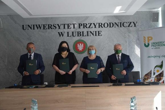 Podpisanie listu Intencyjnego o dalszej owocnej współpracy pomiędzy Uniwersytete