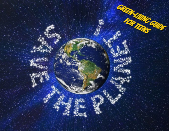 Let's celebrate Earth Day 2021 with ''Save the Planet! Green-Living Guide for Te