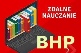 Nauczanie zdalne - BHP
