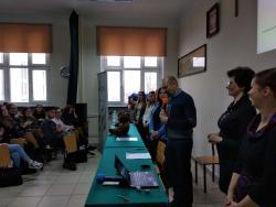 Spotkanie z pracownikami naukowymi i studentami z Uniwersytetu Przyrodniczego w