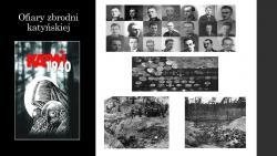 13. kwiecień - 81. rocznica Zbrodni Katyńskiej