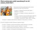 Oferta  edukacyjna szkół zawodowych prowadzonych przez miasto Lublin na rok szko
